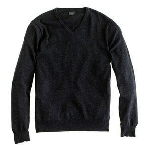J. Crew Slim Cotton-Cashmere V-neck Sweater